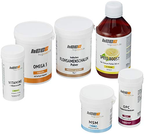 hcgcoach.de Stoffwechselkur 30 Tage Basisversorgung in Spitzenqualität (SpeedBoost Zitrone)