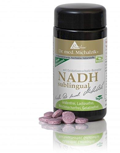 NADH 60 sublingual nach Dr. med. Michalzik - ohne Zusatzstoffe
