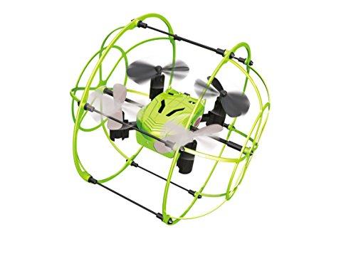 Preisvergleich Produktbild 422023 Korix Turbo-Quadrocopter mit rundum Schutzkorb für Flug- und Fahrmodus, selbststabilisierend und selbstaufrichtend