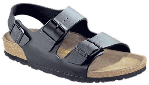Birkenstock milano sandalo, nero (nero), 38 eu narrow