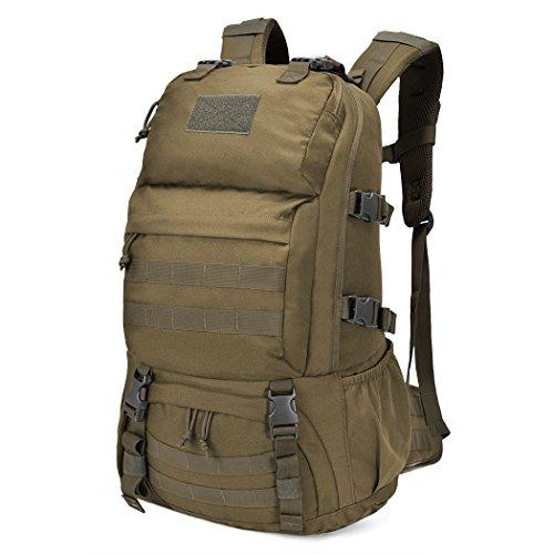 Imagen de mountaintop 40l  militar /táctica molle / acampada /camping /senderismo/ deporte/ backpack de asalto patrulla caqui i