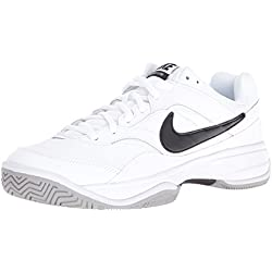 Nike Court Lite, Zapatillas de Tenis para Hombre, (White/Black-Medium Grey), 44 EU