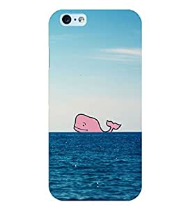 Citydreamz Fishes/Sea World/Animals Hard Polycarbonate Designer Back Case Cover For Apple Iphone 6/6S