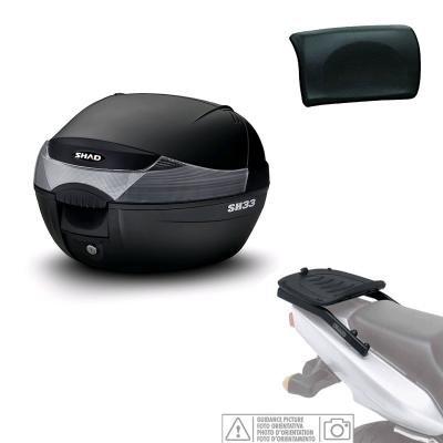 SHAD kit-shad-1070/214: Befestigungsset und Koffer Truhe hinten + Rückenlehne Passagier Geschenk SH33–-- Quadro 3d 350(2012–2016)