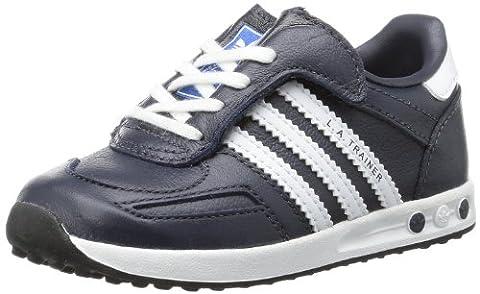 adidas La Trainer CF I G95281, Unisex-Baby Lauflernschuhe, Schwarz (Legend Ink S10/Legend Ink S10/Running White Ftw), EU 20