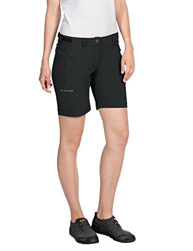 VAUDE Damen Farley Stretch Short Hose, schwarz (Black), 38/S