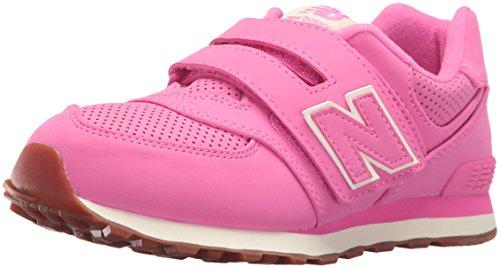 New Balance 574, Scarpe da Ginnastica Basse Unisex - Bambini, Rosa (Pink), 33 EU