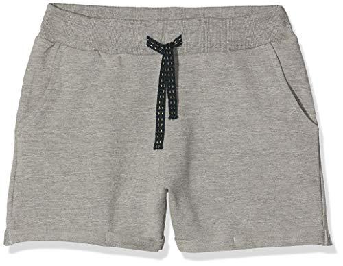 Name IT NOS Mädchen Shorts NKFVOLTA SWE UNB NOOS, Grau (Grey Melange), (Herstellergröße: 146)