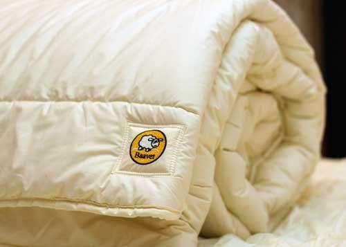 Baavet Pure Wool Duvet 13+ TOG (Winter), Single (135 x 200cm)