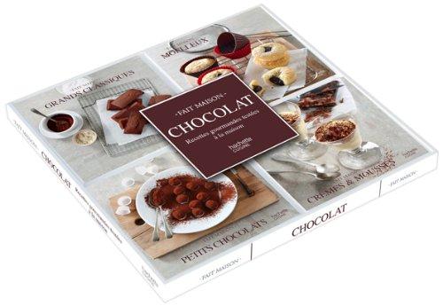 Coffret 4 mini-livres chocolat