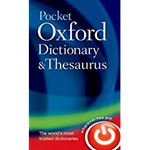 Pocket Oxford Dictionary and Thesaurus (Dictionary/Thesaurus)