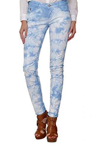Maison Scotch Amsterdams Blauw Damen Jeans Skinny Skinny Jeans LA PARISIENNE, Farbe: Hellblau, Größe: 28/30 (Jeans 5-pocket-flare)