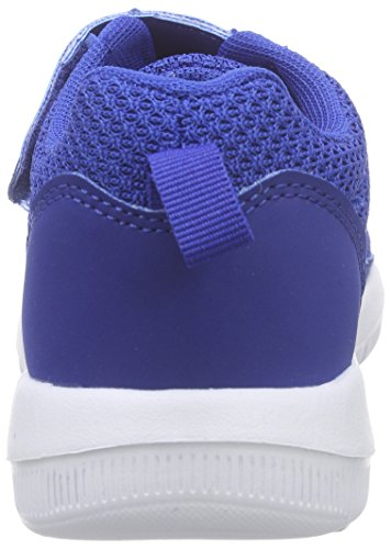 Kappa Speed 2.1 K, Baskets Basses Mixte Enfant Bleu (Blue/white)