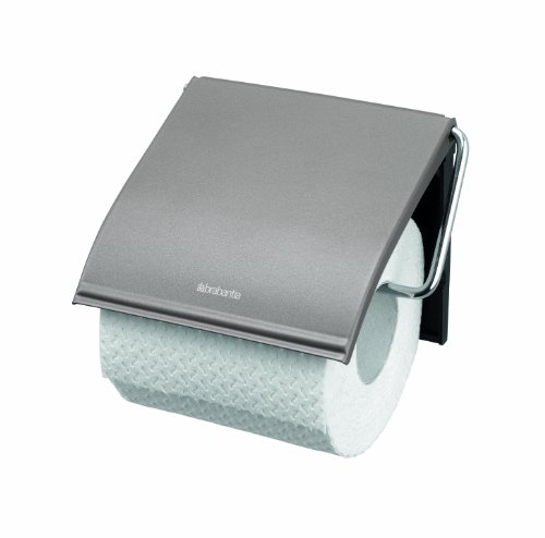 Brabantia 477300 - Dispensador de Papel higiénico, Color Gris