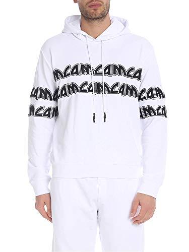 MCQ by Alexander McQueen Herren 430578Rmj779000 Weiss Baumwolle Sweatshirt