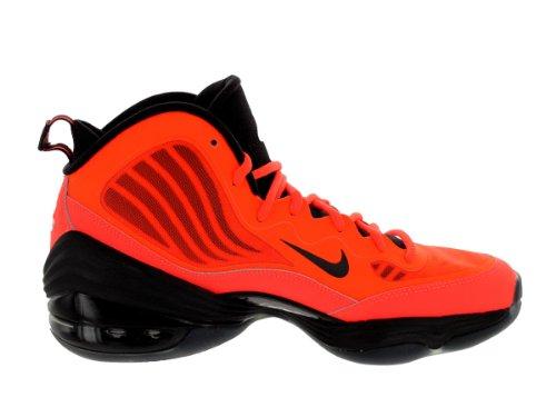 Mens Air Max Uptempo Fuse 360 â??â??Pattini di pallacanestro 555006 Total Crimson/Black