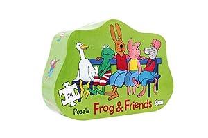 Frog and Friends Puzzle Silueta Amigos para Siempre (Barbo Toys 7780)