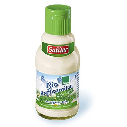 Saliter Bio H-Kaffeemilch 4% Fett (6 x 165 ml)
