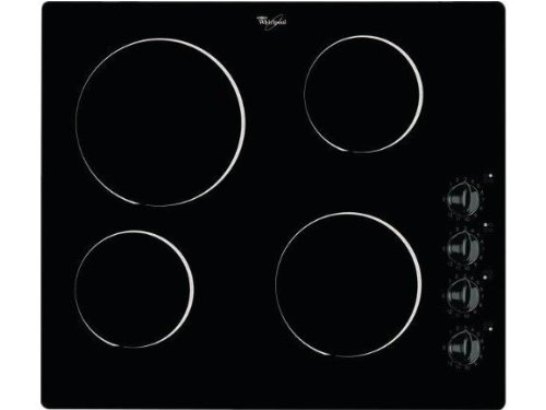 Whirlpool AKM903NE plaque - plaques (Intégré, Induction, verre-céramique, Noir, Rotatif)