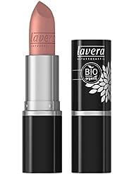 lavera Lippenstift Beautiful Lips Colour Intense ∙ Farbe Tender Taupe ∙ zart & cremig ∙ Natural & innovative Make up ✔ Bio Pflanzenwirkstoffe ∙ Lipstick ∙ Naturkosmetik 1er Pack (1 x 5 g)