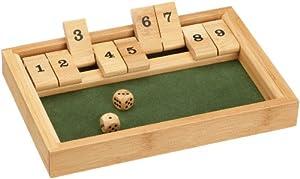 Philos 4014156032705 - Juegos de Dados (Universal, Cube (6 Sides), 10 min, 6 año(s), Adultos y niños, Madera)