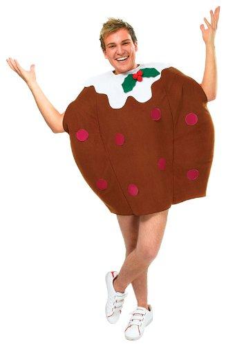 Christmas Pudding - Adult Kostüm - One (Christmas Kostüm Pudding)