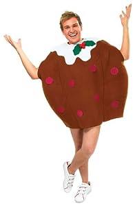Unisex Adult Christmas Pudding Fancy Dress Costume (disfraz)