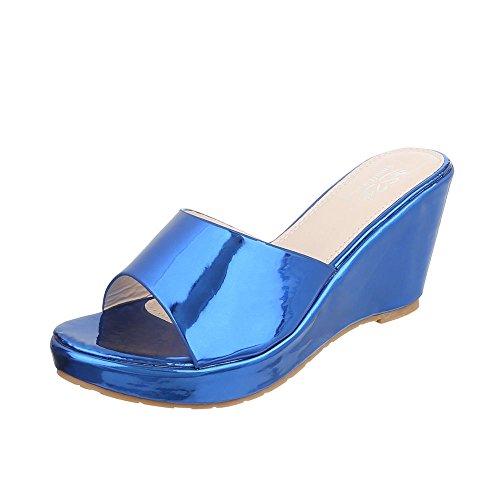 Ital-Design - Jazz & moderno Donna Blau XF87-U