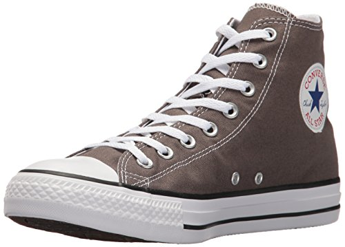 Converse Ctas Core Hi, Baskets mode mixte adulte Gris, blanc et noir