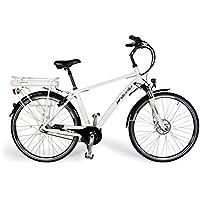 E-Bike/E-Fahrrad/Elektrofahrrad/Faltrad Fahrrad/Stadtrad/Citybike/Unisex, Herren, Damen/weiß, by Provelo