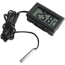 Termómetro digital para Acuario con pantalla LCD Terrario