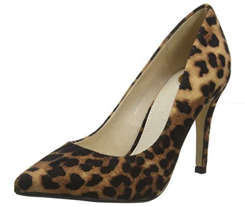 Buffalo Damen FERELLE Pumps, Mehrfarbig (Leopard 001), 38 EU -
