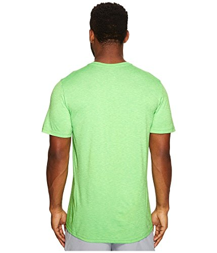 Nike Herren Breathe Hyper Dry T-Shirt Ghost Green/Tourmaline/Black