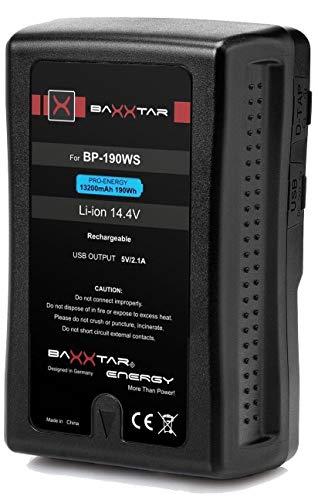 V-Mount Baxxtar Pro - LG Cells Inside 13200mAh - Compatible
