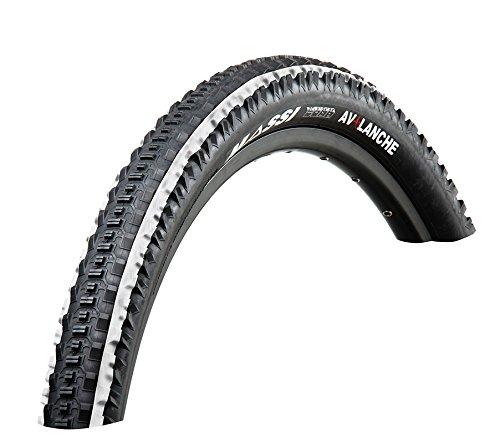 Massi Avalanche - Fahrradmantel, Farbe schwarz / weiß, 27.5 x 2.10