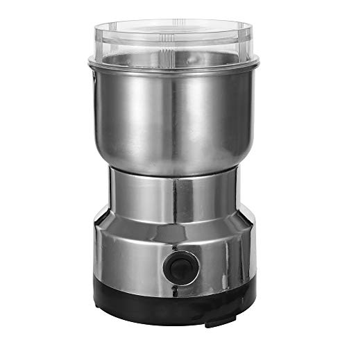 ZUZU Home Küche Mini Edelstahl Klinge Kaffee Nüsse Körner Bohnen Mahlen Multifunktionale elektrische Kaffeemühle,EU -
