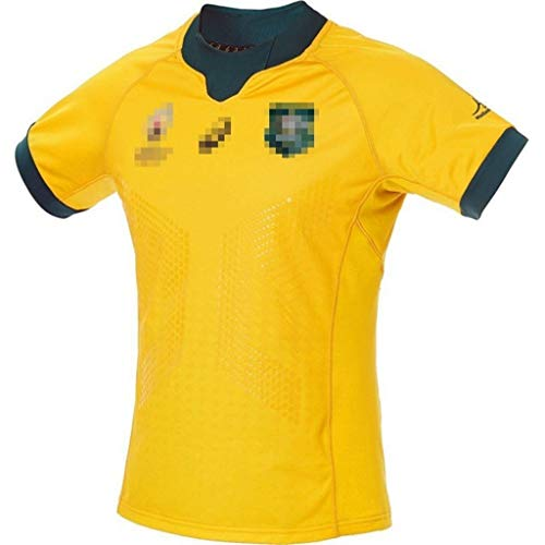 ZSZKFZ Australian Rugby-Hemd, Rugby World Cup 2019 (Color : Yellow, Size : XXL)