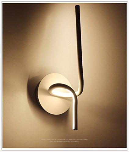 Acrilico moderna lampada da parete camera da