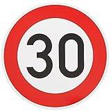 ORIGINAL VERKEHRSSCHILD 30 KM/H Schild DN 60 cm Nr. 274-53 zum Geburtstag als Geburtstagsgeschenk...