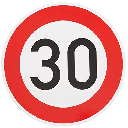ORIGINAL Verkehrszeichen 30 Geburtstagsschild Verkehrsschild Geburtstag Schild Straßenschild