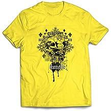 lepni.me Camisetas Hombre Heretic, diseño de Calavera - Radical, Gnosis, ...