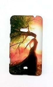 koolBug Back Cover for Nokia Lumia 625 (Multicolor)