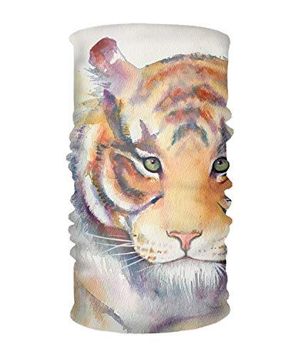 Outdoor Headband, Elastic Seamless Scarf Beautiful Tiger Sport Headwear for Men & Women -