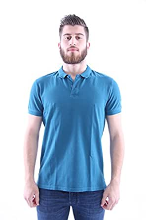 Invicta teal blue polo shirt mens clothing for Mens teal polo shirt