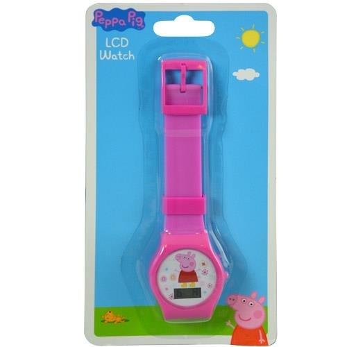 Watch Peppa Pig - Reloj Digital con Banda Impresa en Tarjeta blíster
