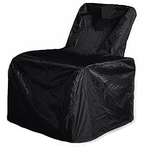 ART TO REAL ATR alle Wetter geflechtstühle Sofa – Verstellbar Terrasse Liege mit Kissen – UV-Beständig/Fade/Wasser…