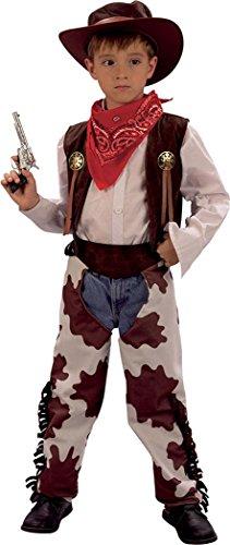 Jungen Fancy Party Buch, Woche Tag Wild Western Outfit Cowboy cowprint chaps Kostüm