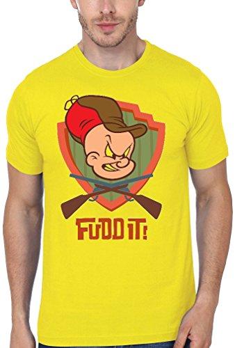 elmer-fudd-it-guns-crossed-funny-mens-t-shirt-medium