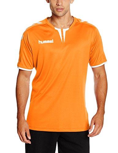 Hummel T-Shirt atmungsaktiv – CORE SS POLY JERSEY – Trainingsshirt kurze Ärmel Herren – Fitnessshirt für Sport & Freizeit –  Sportshirt div. Farben – Tshirt Rundhals