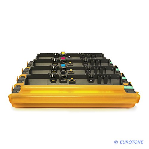 Eurotone Trommel für MFC-9130CW MFC-9140CDN MFC-9330CDW MFC-9340CDW MFC-9142CDN MFC-9332CDW MFC-9342CDW ersetzt 4X Brother DR-241 im Kombi Set Original EUROTONE (ISO-Norm 19798)